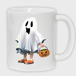 Taza halloween: scream
